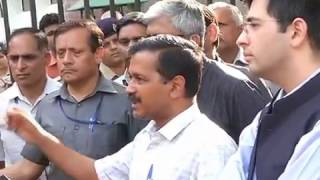 Aap Convenor Arvind Kejriwal Briefs Media on EVM Tampering