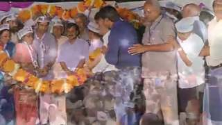 Aap National Convenor Arvind Kejriwal's Public Meeting In Matiala