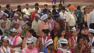 Aap National Convenor Arvind Kejriwal's Public Meeting In Rajouri Garden