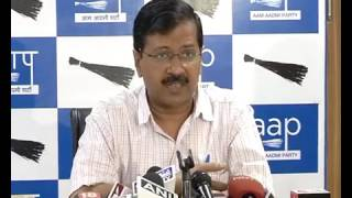 Aap National Convenor Briefs Media on Cancellation of Allotment on AAP Office by LG