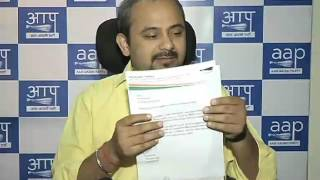 Delhi Convenor's Dilip Pandey reply letter to Election Commission