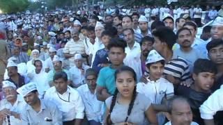 Aap National Convenor Arvind Kejriwal's Public Meeting In Timarpur