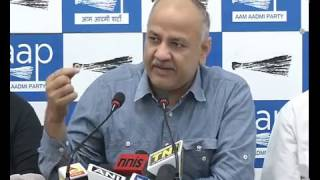 AAP Leader Manish Sisodia on CVC Report.