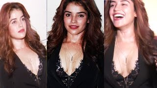 Pia Bajpai Openly Showing Her Assets To Camera