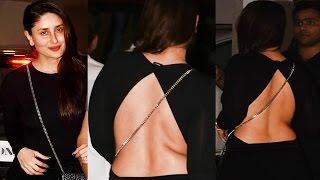 Kareena Kapoor Juicy H0t Back Show in Backless Dress