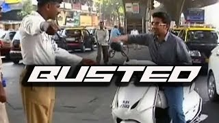 Busted #3 | Stopped by Mumbai Police | Traffic Penalties and RTO Fine