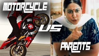 Convince Your Parents to Buy You a Motorcycle | Indian Parents