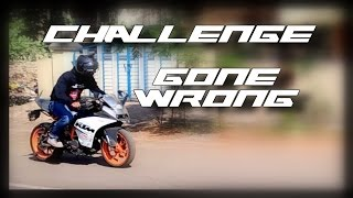 FIRST GEAR - Motorcycle Challenge gone wrong