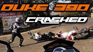 Throttle Tuesday #07 KTM DUKE 390 Crashed
