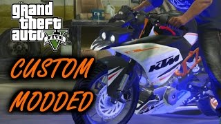 KTM RC 390 Customization | Modified Paint | Custom EXHAUST | Custom Body Kit