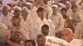 Aap National Convenor Arvind Kejriwal's Public Meeting In Narela