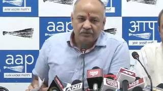 Booklet launched on MCD by Dy CM Manish Sisodia & Delhi Convenor Dilip Pandey