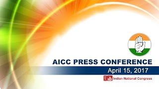 LIVE : AICC Press Congress HQ 15 April 2017