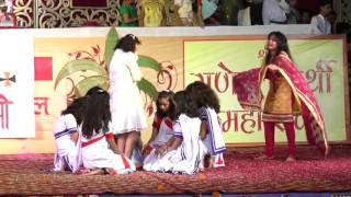 Beti Bachao play by Tagore Public School delhi at ganesh chaturthi