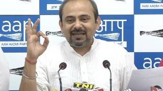 'आप' ने लिखा बीजेपी अध्यक्ष अमित शाह को पत्र, दिल्ली नगर निगम में भाजपा के कुशासन से कराया अवगत