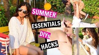 Basic Summer Essentials I DIYs I Tips + More!