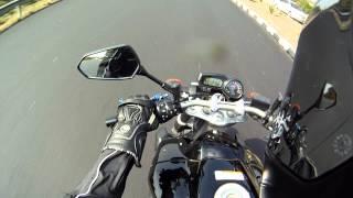 Yamaha FZ1 and Yamaha R1 - GoPro.