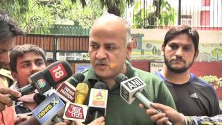 Aap Leader Manish Sisodia Briefs Media on Upcoming MCD election.
