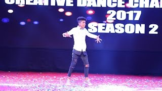 Mahesh Sharma 2nd place Solo Creative Dance Championship Season 2 2017 India