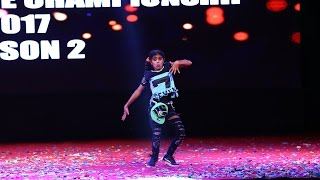 Kiran Kukreja Solo Finals Creative Dance Championship Season 2 2017 India