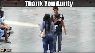 Thank you Aunty - Pranks in India - Comment Trolling