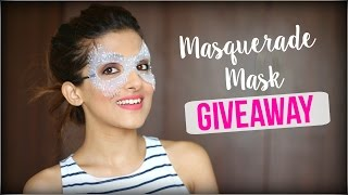 Masquerade Eye Mask GIVEAWAY -  Mad Stuff With Rob
