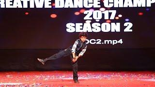 Pratik Deshmukh - Solo - Finals - Creative Dance Championship - Season 2 - 2017 - India
