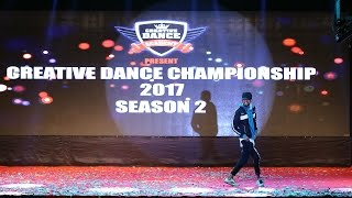 Karan Khilare Solo Finals Creative Dance Championship Season 2 2017 India
