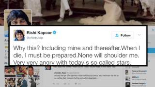 Rishi Kapoor SLAMS young actors who missed Vinod Khanna funeral