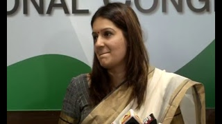 AICC Media Byte By Priyanka Chaturvedi at Congress HQ. April 25, 2017