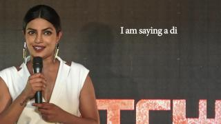 Priyanka's 'DESI' Accent comes out, Whenever sh gets Angry