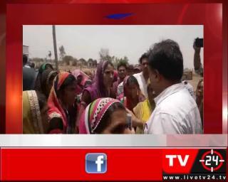 आष्टा - शराब का ठेका हटाने के खिलाफ महिलाओं का प्रदर्शन