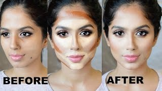 HOW TO CONTOUR YOUR FACE FOR BEGINNERS I Step By Step