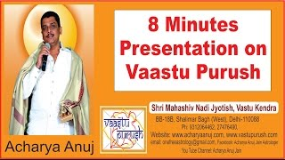 8 Minutes Presentation on Vaastu Purush in. #BNI by Acharya Anuj Jain
