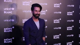 Shahid Kapoor At the Montblanc UNICEF Event With Cricketer AB de Villiers