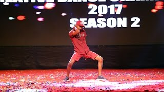 Andy Kokare Solo Finals Creative Dance Championship Season 2 2017 India