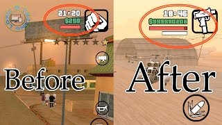 How to cheat codes in GTA San Andreas (Mobile)   #App Review 3