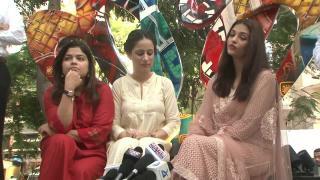 Aishwarya Rai 'in the city' inaugurates Nagi's artwork