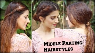 3 cute  easy everyday hairstyles with ponytails for