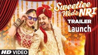 Sweetie Weds NRI Movie Trailer Launch   Zoya Afroz   Himansh Kohli