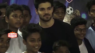 Sooraj Pancholi & Dino Morea At Launch Of 1st Edition Of Super Soccer Tournament