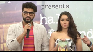 Half Girlfriend Book Launch Part 1 | Chetan Bhagat | Shraddha Kapoor | Arjun Kapoor