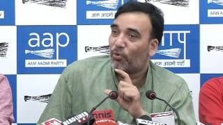 Aap Delhi Convener Gopal Rai & Aap Mla Somnath Bharti Briefs Media on EVM Tampering