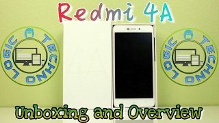 Xioami Redmi 4A Unboxing and overview TechNo Logic