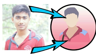 How to make cartoon picture logo in Photoshop How to make your Photo Like MKBHD!
