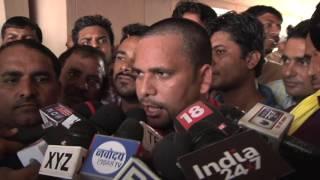 Aap Mla Sanjeev Jha Anshan Against Kapil MIshra