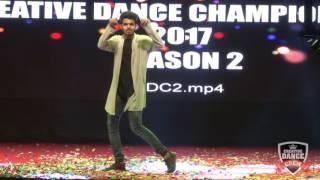 Lalit Chaudhari Solo Finals Creative Dance Championship Season 2 2017 India