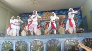 Best assami folk dance by shhs shamrocks group which won 1st prize 2016-17