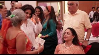 'Freedom My Story' Book Launch By Naseeruddin Shah & Hema Malini