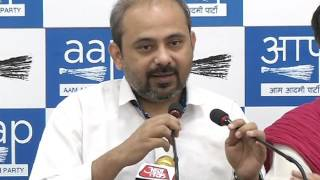Aam Aadmi Party Press Brief on Funding Issue
